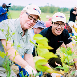 2,000 New Trees Planted at Yokohama Tire Manufacturing Mississippi LLC during 'Forever Forest' Event